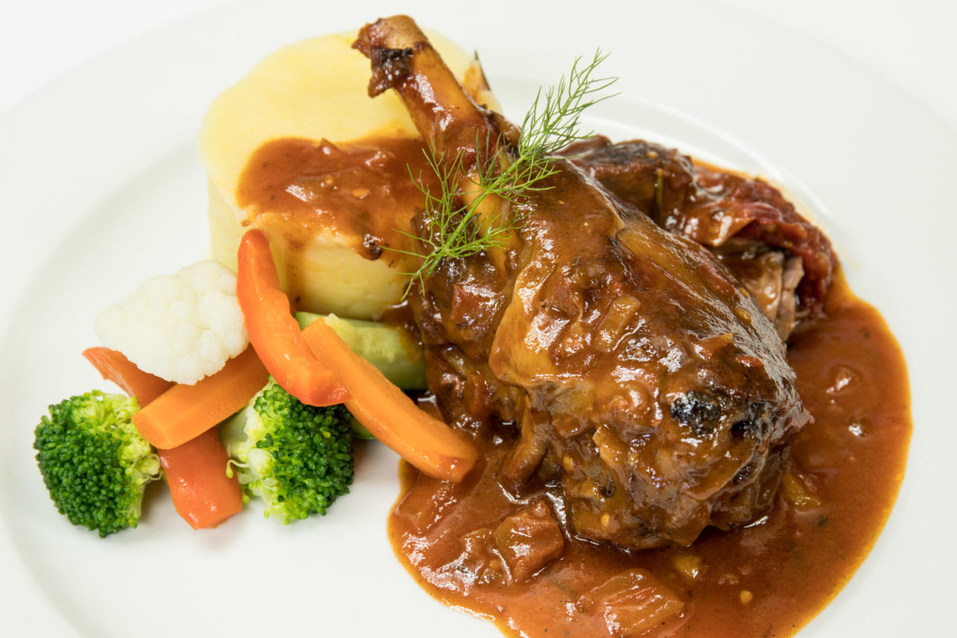Lamb Shank, the perfect Winter Warmer...