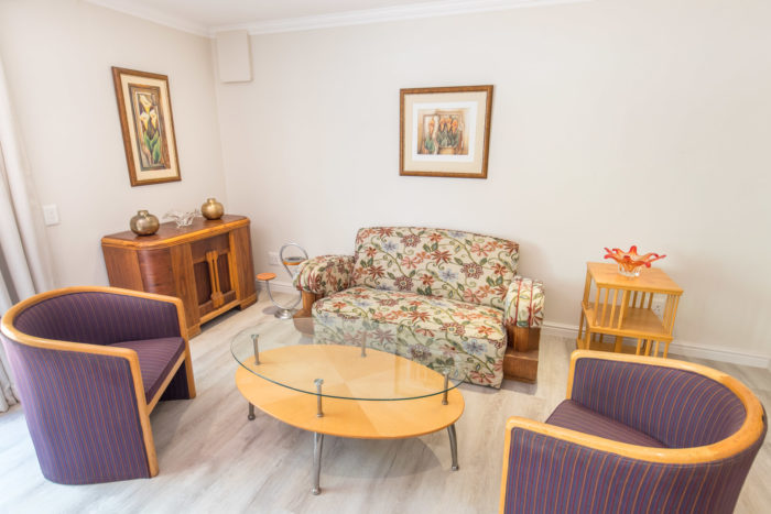 Wheelchair friendly self-catering unit